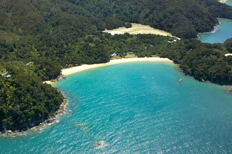 View the Abel Tasman Coastline on your cruise