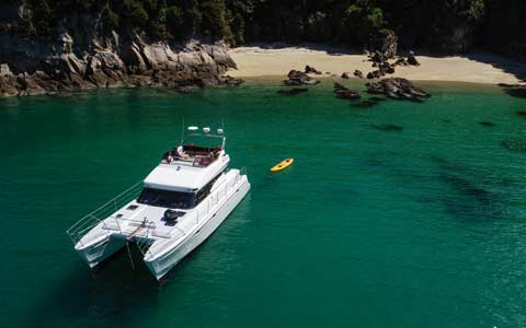 Cruise the Abel Tasman on board Torea