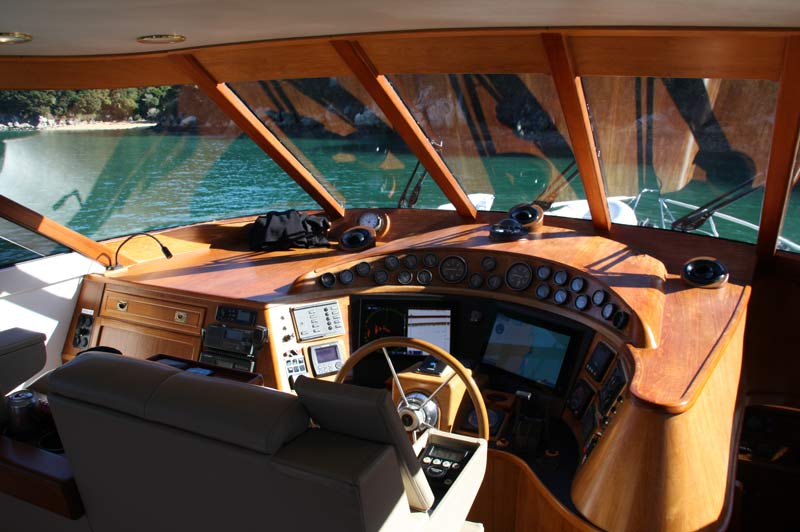 our Kennedy 19 for luxury charters in the Abel Tasman